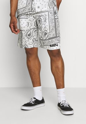 BANDANA PRINT PULL ON - Shorts - white