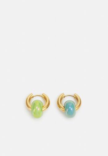 SET - Earrings - gold-coloured