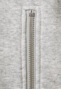 PIECES Tall - PCLEDA HOODIE DRESS  - Day dress - light grey melange - 2