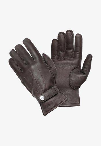 HENRY - Gloves - dunkelbraun