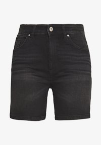 ONLY - ONLBLUSH MID  - Shorts di jeans - black - 5