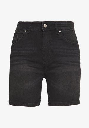 ONLBLUSH MID  - Szorty jeansowe - black