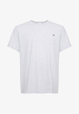 PLUS - Jednoduché triko - argent chine