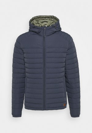 JJBASE LIGHT HOOD JACKET - Übergangsjacke - ombre blue