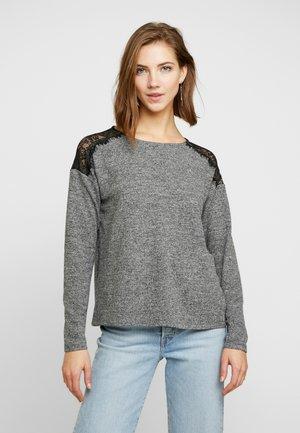VMMALENA - Camiseta de manga larga - medium grey melange
