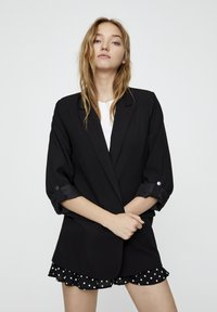 PULL&BEAR - Manteau court - black - 3
