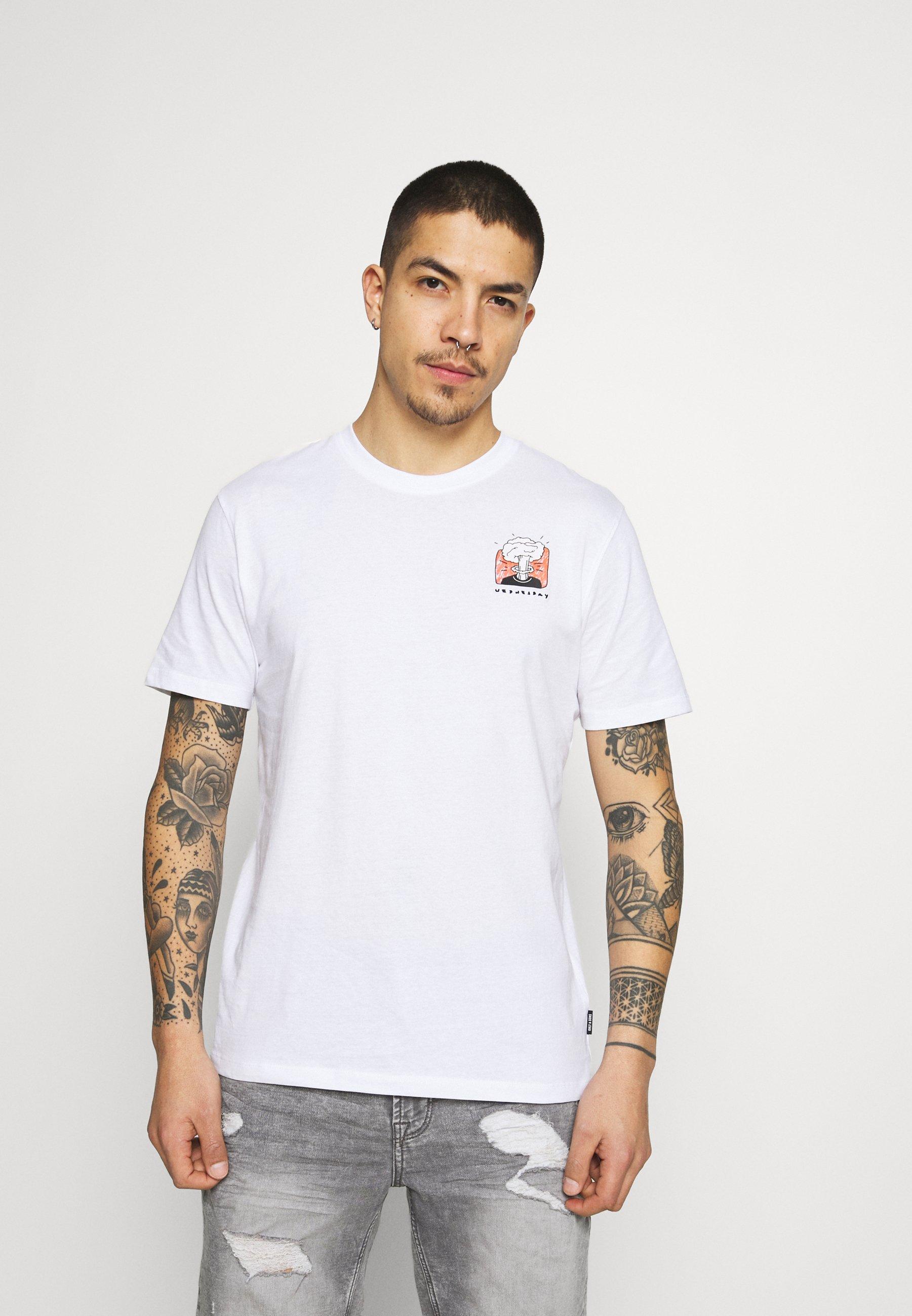 Men ONSMIKKEL LIFE TEE - Print T-shirt