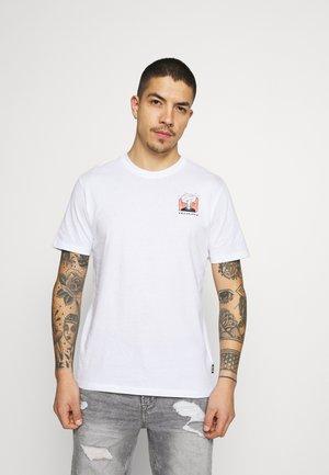 ONSMIKKEL LIFE TEE - Print T-shirt - white