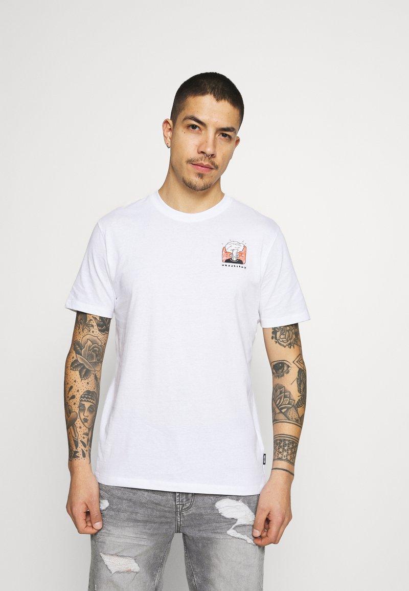 Only & Sons - ONSMIKKEL LIFE TEE - T-shirt med print - white