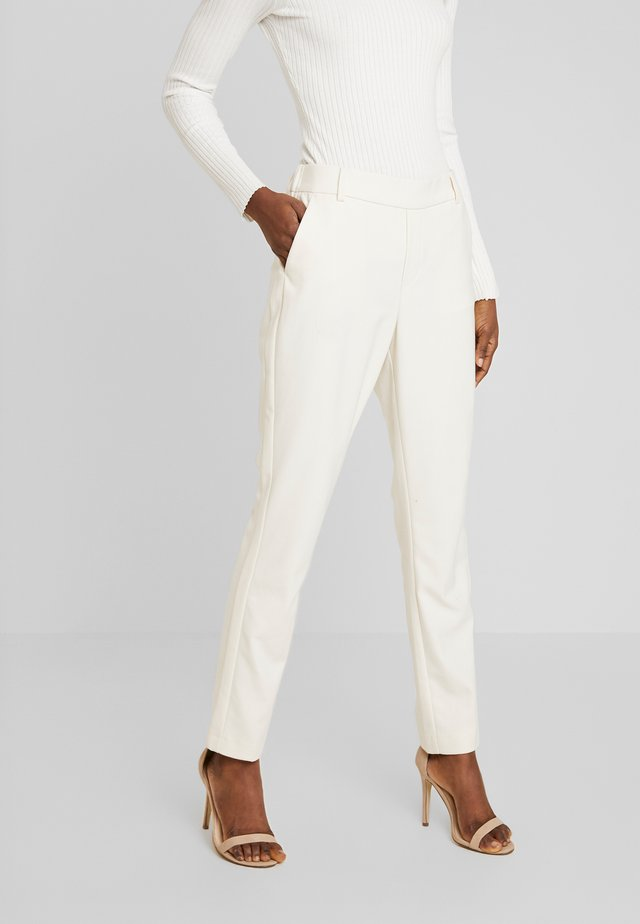 GERRY TWIGGY PANT - Spodnie materiałowe - ecru