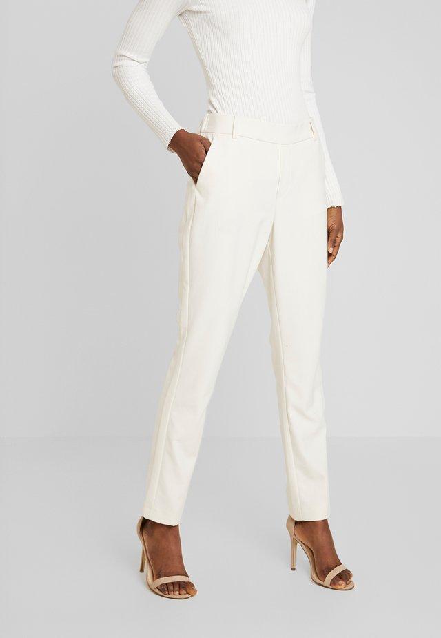 GERRY TWIGGY PANT - Pantalon classique - ecru