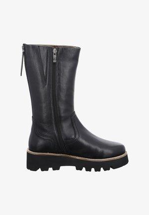 KOPENHAGEN - Platform boots - schwarz