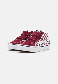 Vans - SK8-MID REISSUE UNISEX - High-top trainers - pomegranate/true white - 1
