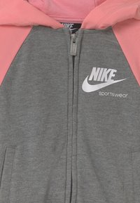 Nike Sportswear - HERITAGE  - Mikina na zip - carbon heather - 2