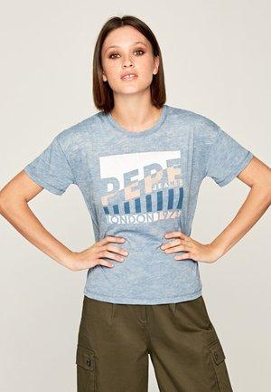 CAMEO - T-shirt imprimé - mottled blue