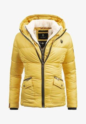MEGAN - Winter jacket - yellow