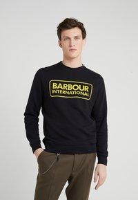 Barbour International - LARGE LOGO - Sweatshirt - black - 0