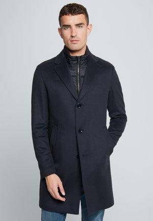Wollmantel/klassischer Mantel - dunkelblau