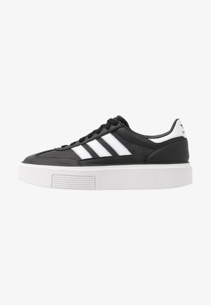 SLEEK SUPER 72 - Sneakers laag - core black/footwear white/crystal white