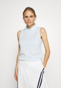 Nike Golf - DRY VICTORY - Funkční triko - topaz mist/white - 0