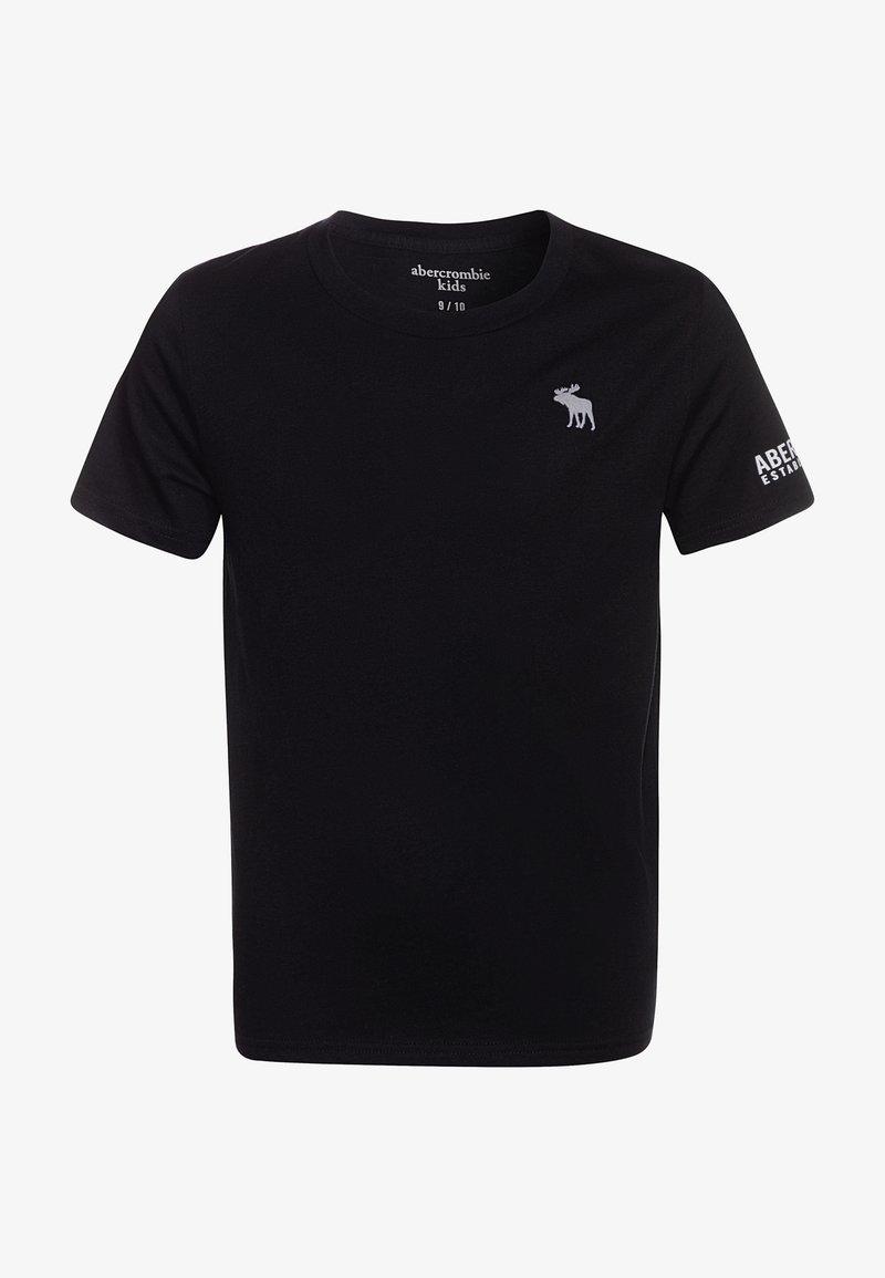 Abercrombie & Fitch - FLEX ITEM  - Print T-shirt - black