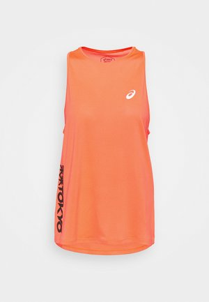 FUTURE TOKYO TANK - Top - sunrise red/performance black