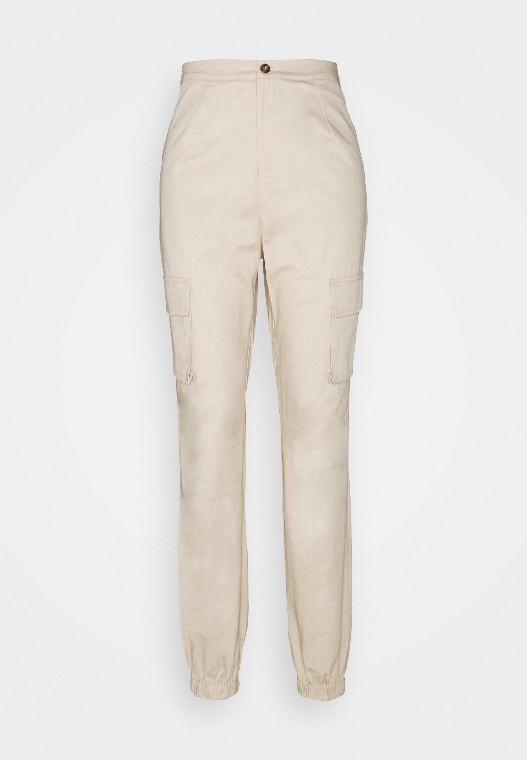Women POCKET DETAIL TROUSERS - Cargo trousers