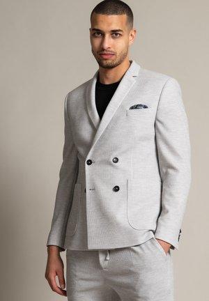 DANNY AT - Blazer jacket - hellgrau