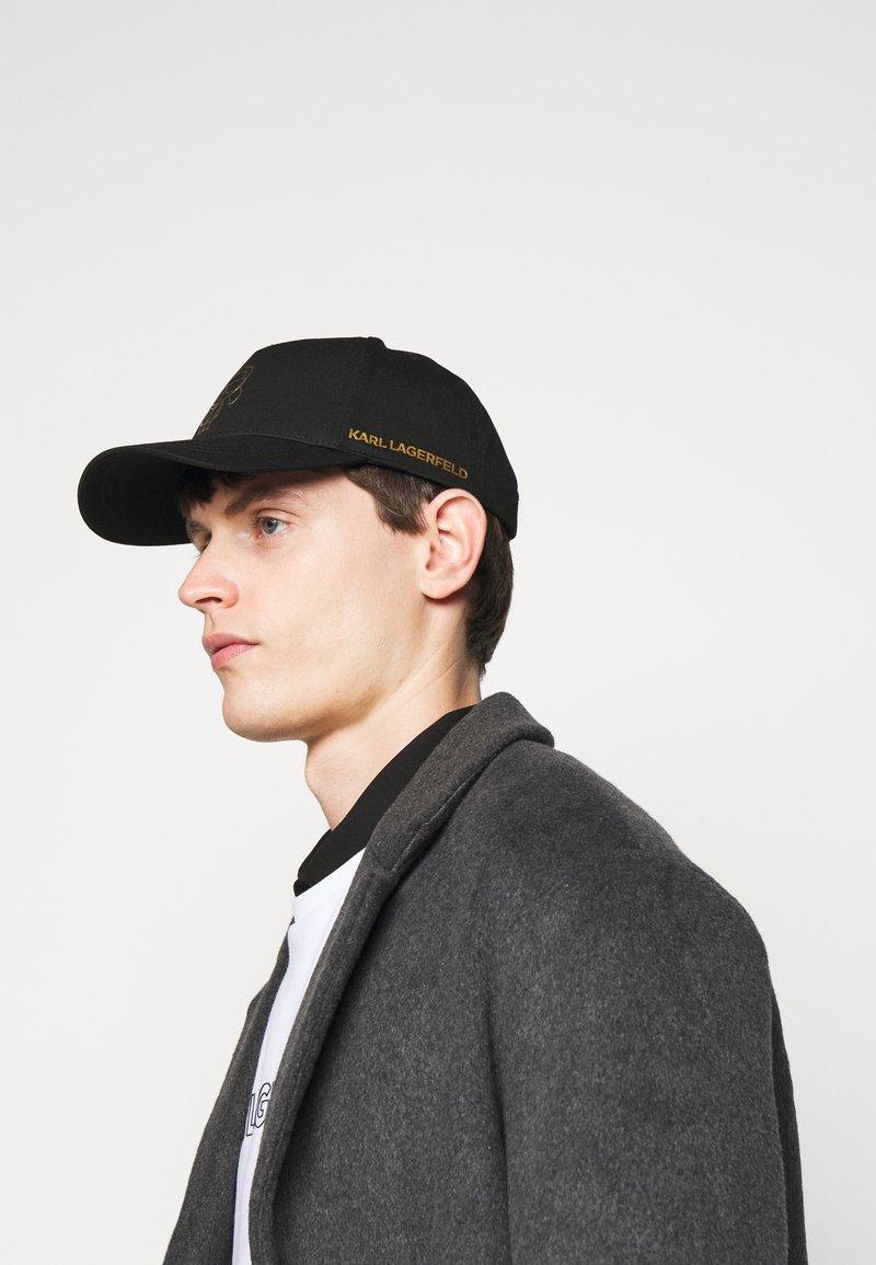 KARL LAGERFELD - BASECAP UNISEX - Casquette - black