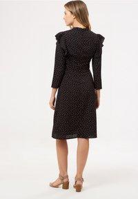 Sugarhill Brighton - LEILANI PETAL - Day dress - black - 2