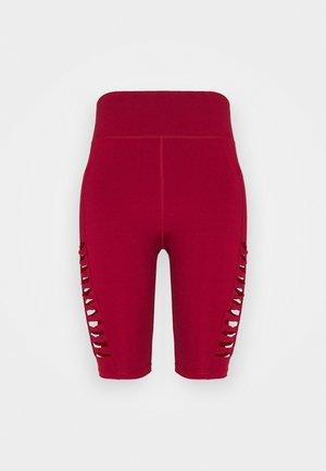 Legging - dark red