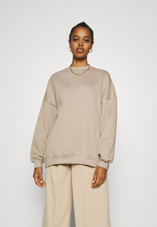 PERFECT OVERSIZE - Collegepaita - beige