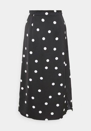 YASDILARA SKIRT - A-line skirt - black