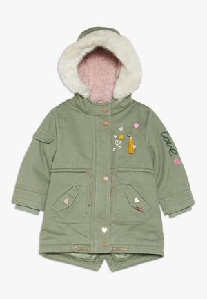 BABY PADDED WITH TRIMS - Winterjas - khaki