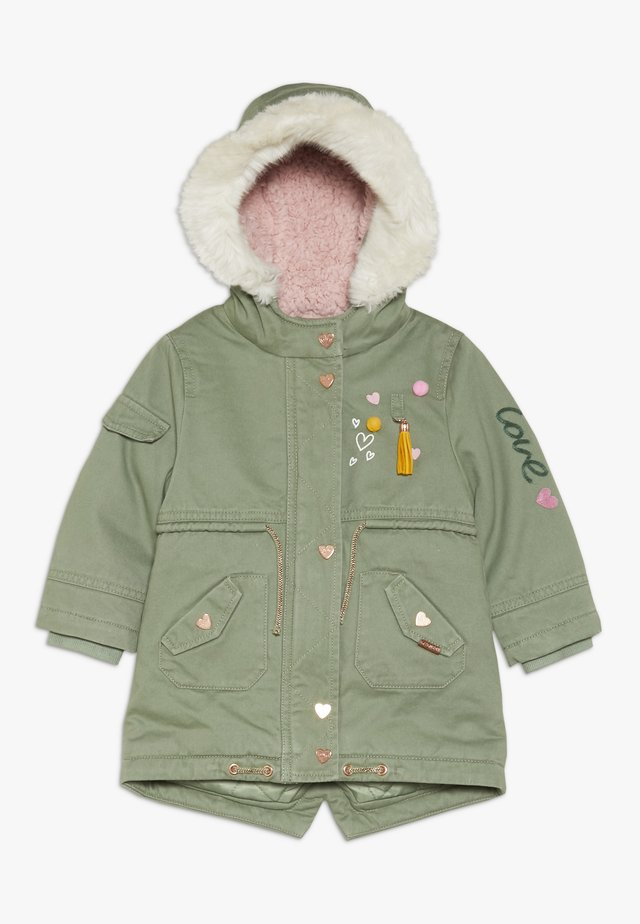BABY PADDED WITH TRIMS - Vinterkåpe / -frakk - khaki