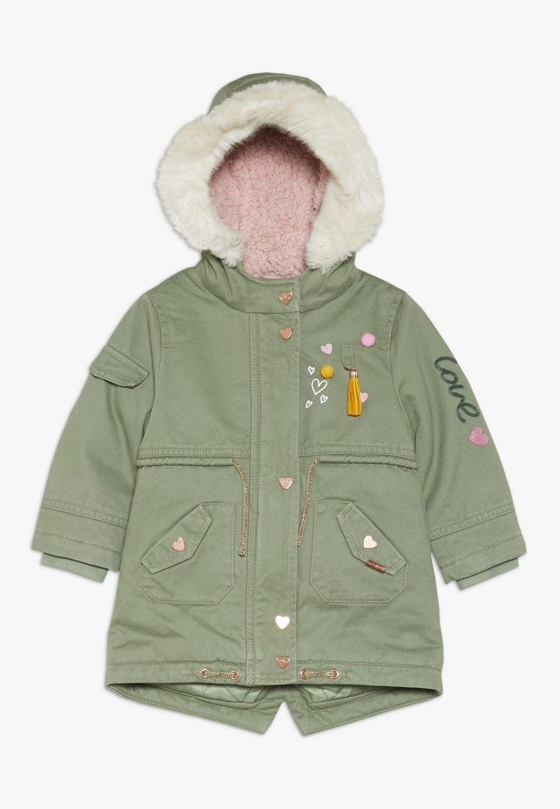 mothercare - BABY PADDED WITH TRIMS - Winter coat - khaki