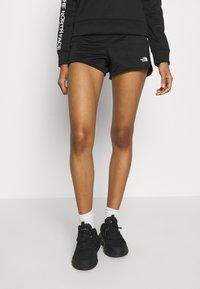 The North Face - TRAIN LOGO  - Shorts - black - 0