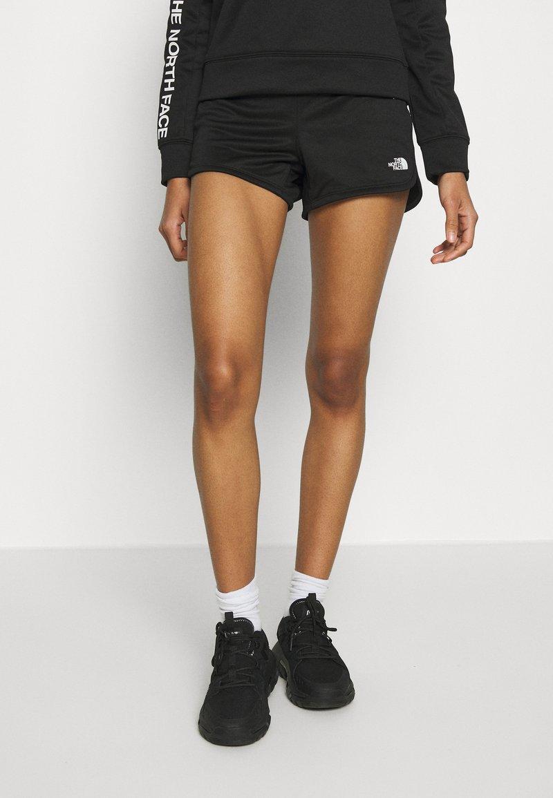 The North Face - TRAIN LOGO  - Shorts - black