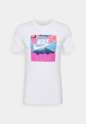 TEE MANGA PHOTO - Print T-shirt - white