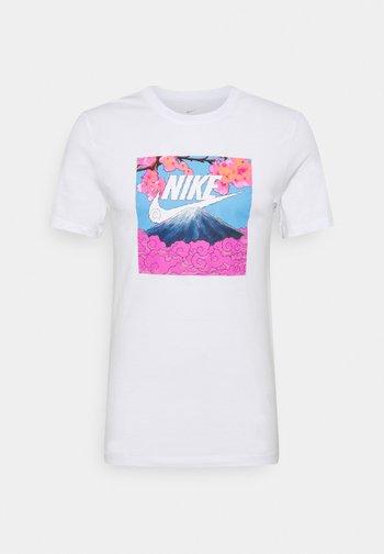 TEE MANGA PHOTO - Print T-shirt - white