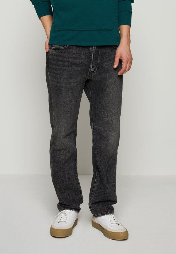 Levi's® 551Z™ AUTHENTIC STRAIGHT - Jeansy Straight Leg - blacks/czarny denim Odzież Męska PXEE