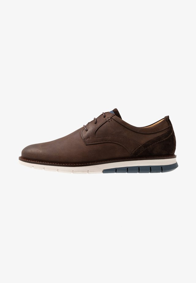MATHEUS - Casual snøresko - dark brown