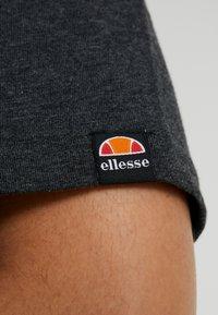 Ellesse - ALBANY - Print T-shirt - dark grey marl - 5