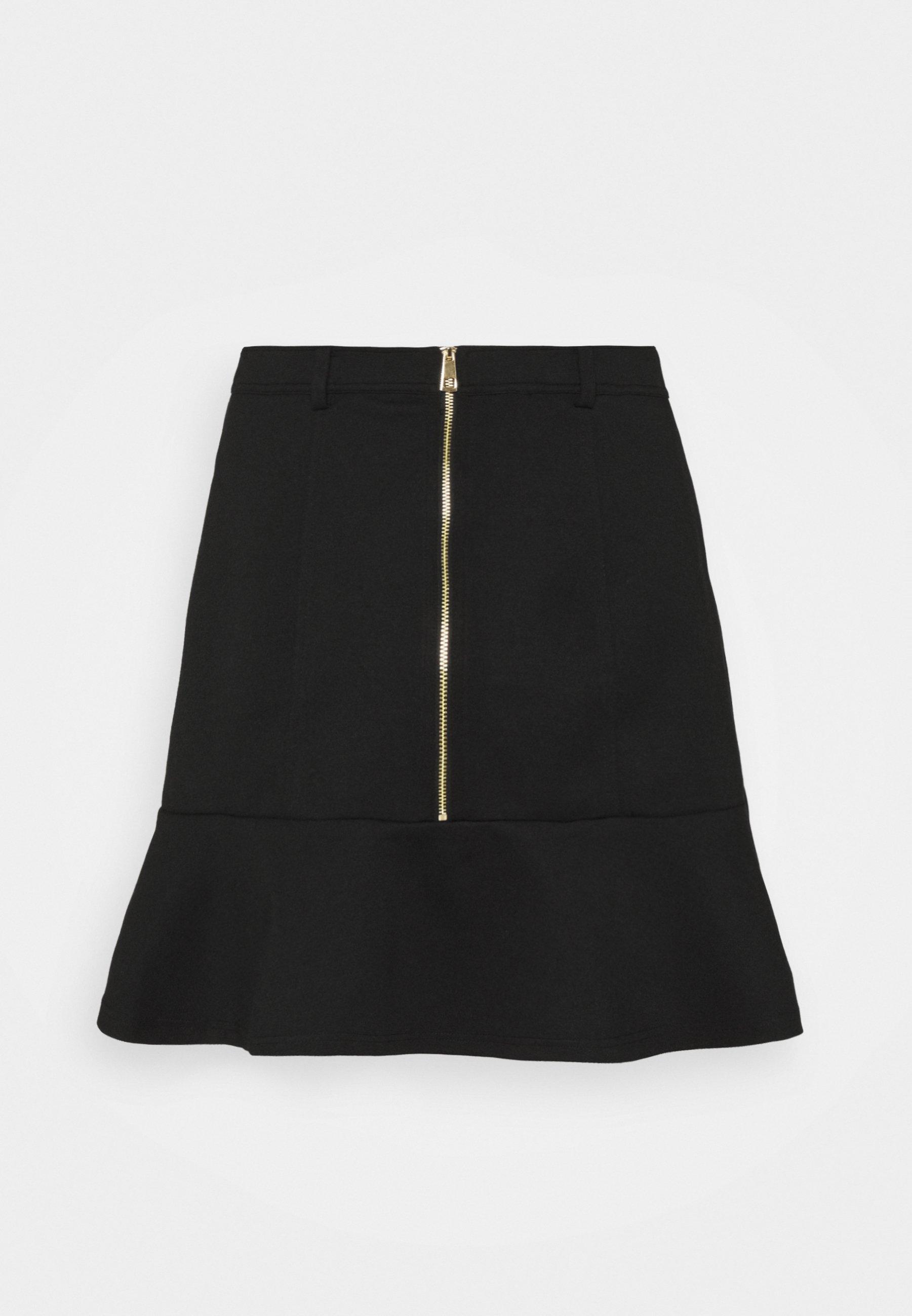 Femme PONTE PEPLUM SKIRT - Minijupe