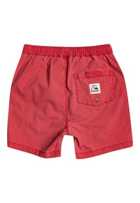 Quiksilver - TAXER WS YOUTH - Tracksuit bottoms - american red - 1