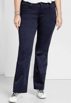 Bootcut jeans - marine