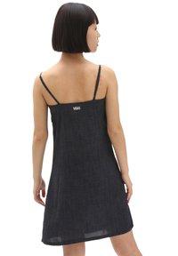 Vans - WM SURF SUPPLY SLIP DRESS - Day dress - black - 1