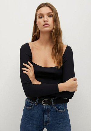 Long sleeved top - zwart