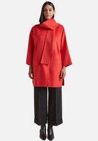 Elena Mirò - Classic coat - rosso - 1