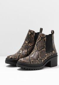 Topshop - BRIXTON CHELSEA - Ankle boots - natural - 4